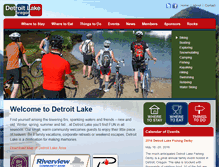 Tablet Preview of detroitlakeoregon.org